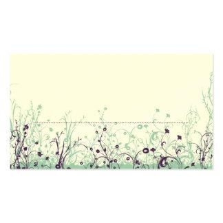 Coloque o jardim 9 da borboleta do ~ do cartão cartões de visita