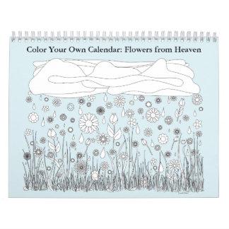 Colora seu próprio calendário