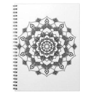 Coloração adulta: Caderno da mandala