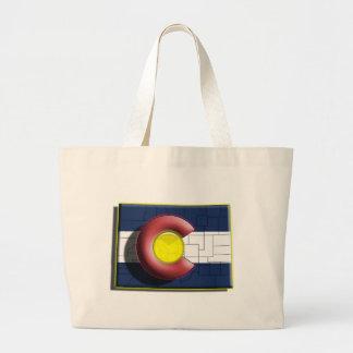 Colorado (3d) sacola tote jumbo