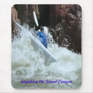 Colorado-divertimento, kayaking o Grand Canyon Mouse Pad