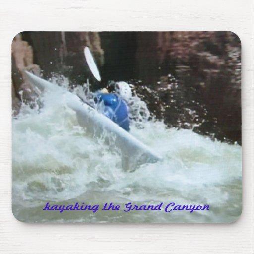 Colorado-divertimento, kayaking o Grand Canyon Mousepads