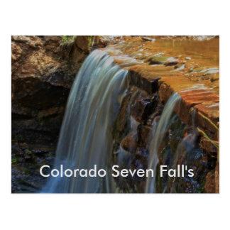 Colorado o CARTÃO de sete quedas