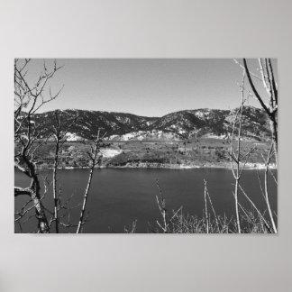 Colorado preto e branco pôster