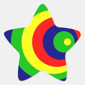 Colorful Adesivo Estrela