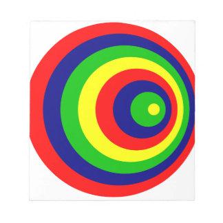 Colorful Bloco De Anotação
