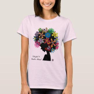 Colorful×BOMBER-CABEÇA Camiseta