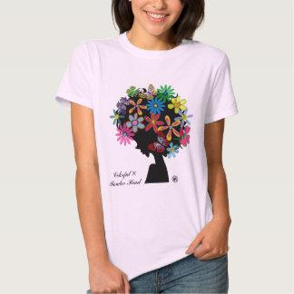 Colorful×BOMBER-CABEÇA Camisetas