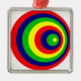 Colorful Ornamento De Metal