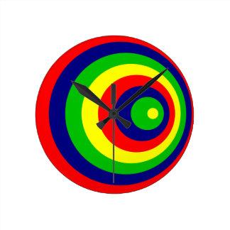 Colorful Relógio Redondo