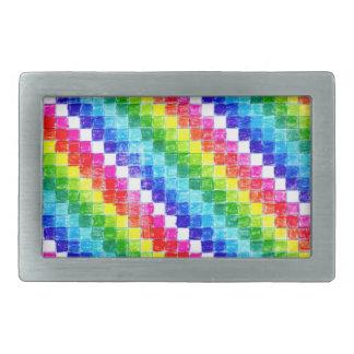 Colorido em quadrados do papel de gráfico