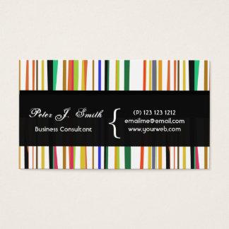 Coloridos versáteis do pop encantador da cor cartão de visitas