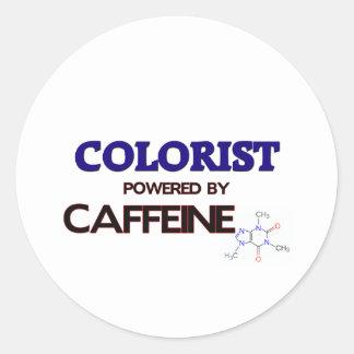 Colorist psto pela cafeína adesivo