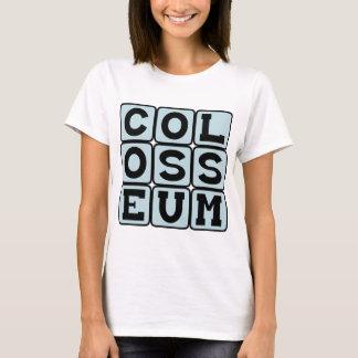 Colosseum, fórum romano camiseta