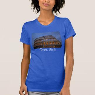Colosseum romano na noite tshirt