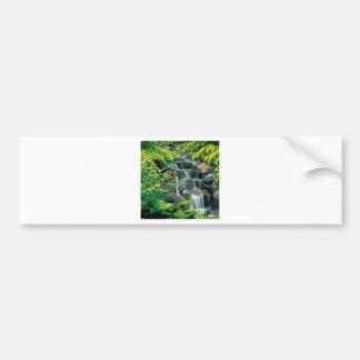 Columbia Britânica de Vancôver da cachoeira Adesivo