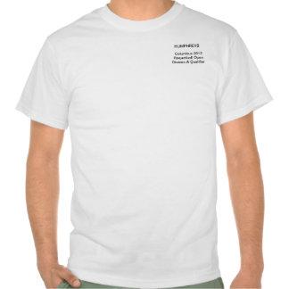 Columbo Raquetball 2012 aberto T-shirts