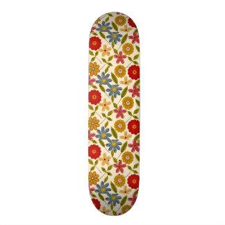COM flores do imagem Skates