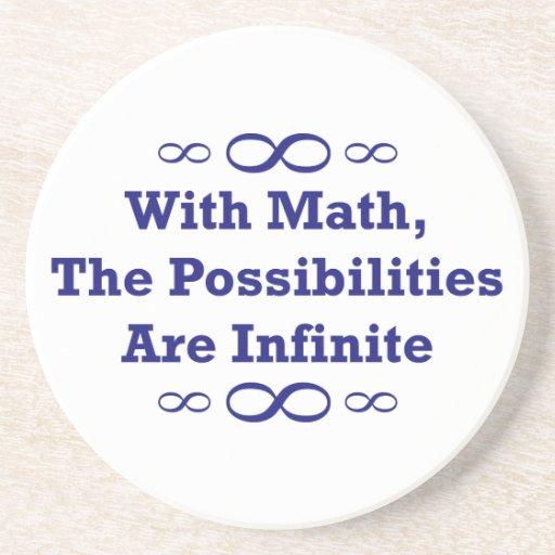 Com matemática, as possibilidades são infinitas porta copos