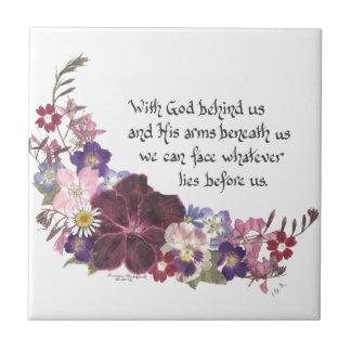 Com o deus atrás de nós…