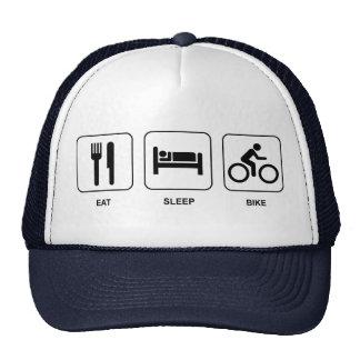Coma a bicicleta do sono bones