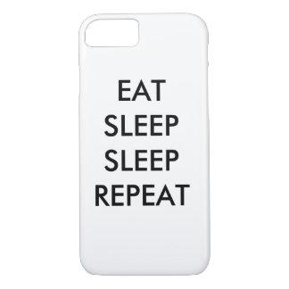 coma a capa de telefone do iphone 6/s da repetição