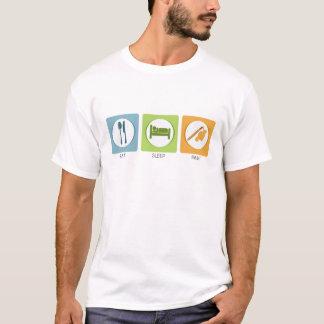 Coma a pintura do sono camiseta