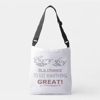Coma algo grande bolsa ajustável