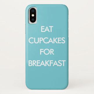 COMA CUPCAKES PARA capas de iphone de turquesa do