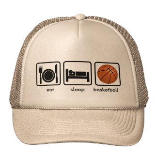 Coma, durma, basquetebol bonés