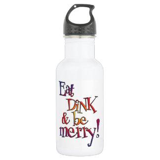 Coma garrafas de água de Dink