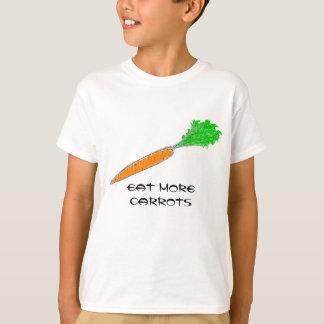 Coma mais camisas das cenouras