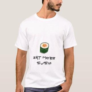 Coma mais camisas do sushi
