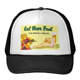 Coma mais fruta - os anos 40 da propaganda Ca do v Bonés