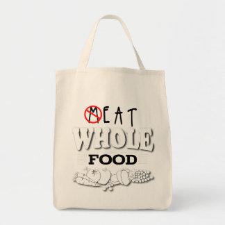 Coma o bolsa inteiro da comida