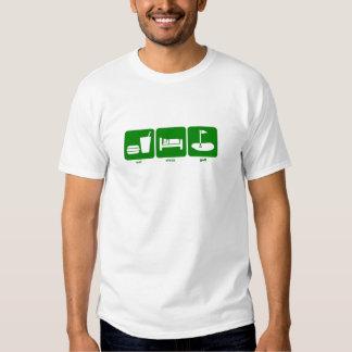 coma o golfe do sono t-shirts