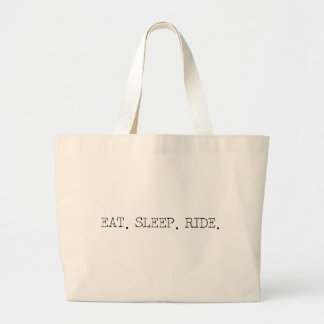 Coma o passeio do sono bolsa de lona