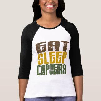Coma o sono Capoeira 1 Camiseta