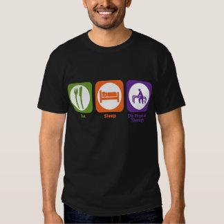 Coma o sono fazem a fisioterapia t-shirt