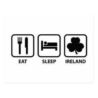 Coma o sono Ireland Cartão Postal