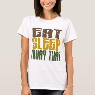 Coma o sono Muay 1 tailandês Camiseta