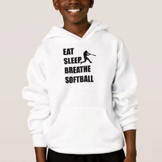 Coma o sono respiram o softball