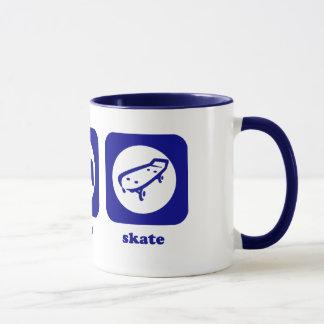 Coma. Sono. Skate. Caneca