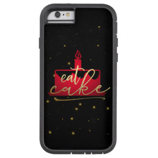 """""""Coma vermelho do bolo"""" e capas de iphone"""