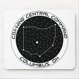 Comando central Mousepad da X-Asa central de Ohio