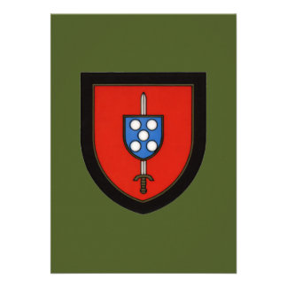 Comandos portugueses do exército convite personalizados