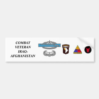 CombatInfBadge2Awd, aab, 1ad, 1mkl, 34ID, COMBA… Adesivo Para Carro