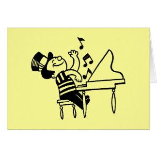 Comece o cartão da música
