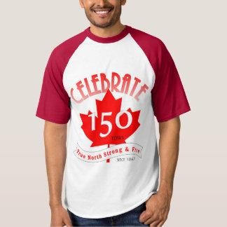 Comemore Canadá 150 anos Camiseta