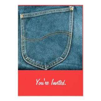 Comemore jeans - convites